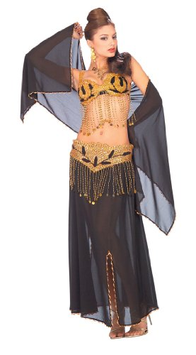 Deluxe Black Harem Dancer Costume - Womens Std.