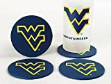 West Virginia Mountaineers Coasters (4 Pack) at Amazon.com