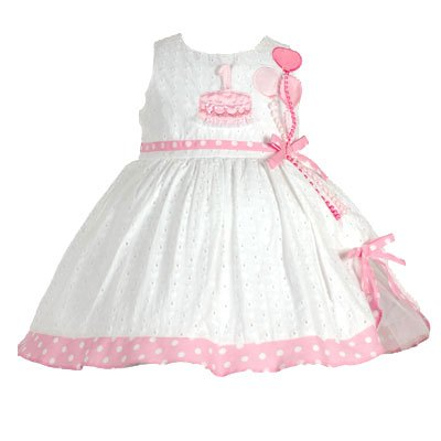 First Birthday Dress Personalized Chenille
