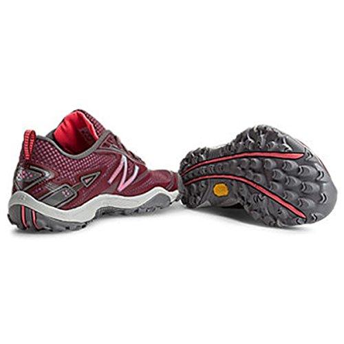 888098095548 - New Balance Women's WO80 Trail Running Shoe,Red,11 D US carousel main 1