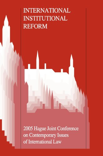 Criminal Jurisdiction 100 Years after the 1907 Hague Peace Conference: 2007 Hague Joint Conference on Contemporary Issues of International Law ... Hague Joint Conferences on International Law)