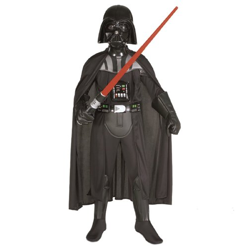 Star Wars Deluxe Darth Vader Deluxe Child Costume, Small (4 - 6) front-517875