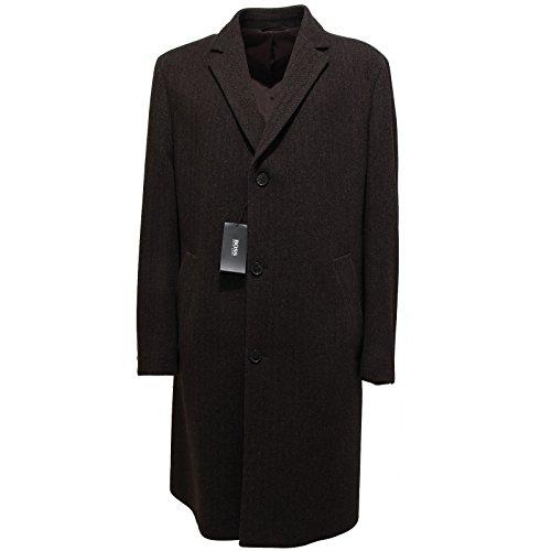 9051L cappotto uomo marrone HUGO BOSS lana giacche jackets men [52]
