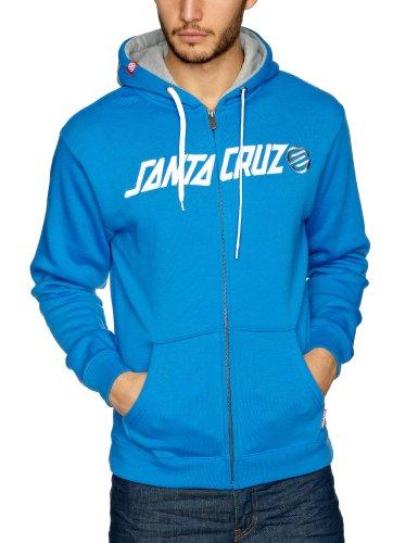 SANTA CRUZ Capital Hood Men's Sweatshirt Deep Blue Large