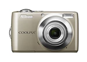 Nikon Coolpix L22 12.0MP Digital Camera with 3.6x Optical Zoom and 3.0-Inch LCD (Silver)