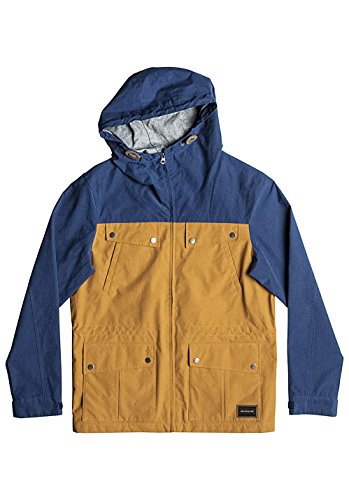 Quiksilver Uomo cloverdaze Parka, Uomo, Cloverdaze, Golden Oak Heather, XL
