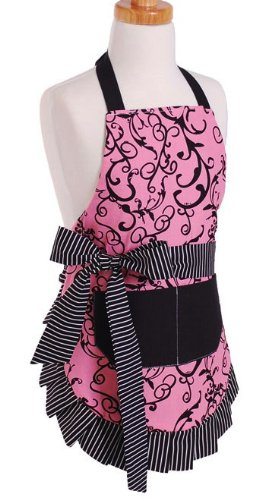 Flirty Aprons Girl's Original Chic Pink Apron