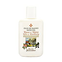 Rose & Blackberry with Extracts of Cabbage Rose and Rubus Fruticosus by Speziali Fiorentini 3.3 oz Bath Oil