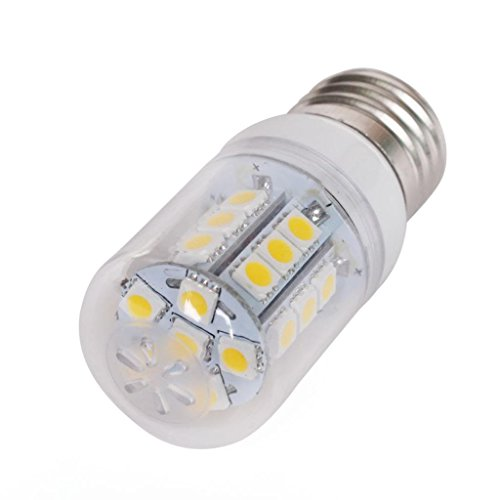 Lqz 5.5W Super Bright E27 Led Bulb With Clean Cover And 27 X 5050 Smd Leds - 450 Lumens - Warm White - Ac 220V