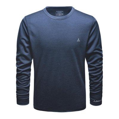 Herren-Funktionsunterhemd-Langarmshirt-Merino-Sport-Shirt