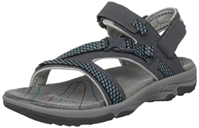 Hi-Tec Women's Harmony Back Strap Graphite/Cool Grey/Ultramarine Sandal O001632/051/01 4 UK, 37 EU, 6 US
