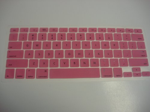 Koolshop BABY PINK Keyboard Silicone Cover Skin for Macbook 13