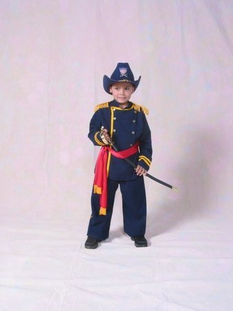 Civil War Union Officer Child Costume