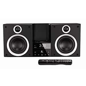 Logitech Pure-Fi Elite High-Performance Stereo System for iPod (Black)