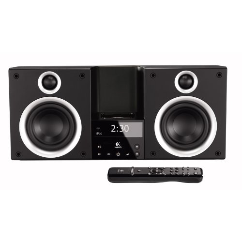 3e1841d0150 Best Buy Logitech Pure-Fi Elite High-Performance Stereo System for iPod  (Black) At Great And Lowest Price!