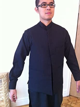Desert Dress Arabic Black Dress Jacket Fancy Formal Afghan Quality Waist Coat