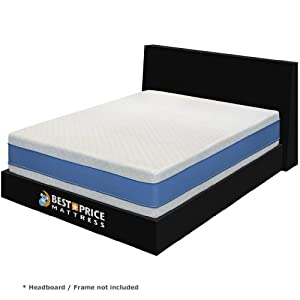 Best Price Mattress 13 Inch Gel Memory Foam California King Size Mattress