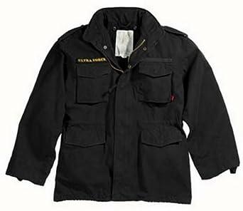 Vintage M-65 Field Jacket Black Jacket