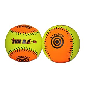 Buy 1 Dozen Evil Bp 12 Softballs - 52cor .300 Compression AK EVIL BP52 12 Balls by Trump/Evil Sports