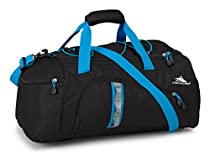 High Sierra Crossport 2 Jitter Duffel Bag, Black/Pool