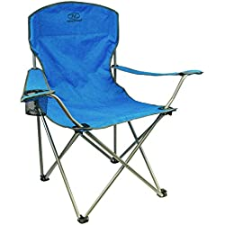 Highlander Traquair Folding Chair - Silla de camping, color verde azulado