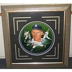 Whitey Ford Framed Signed Paluso New York Yankees Art Print PSA COA - Autographed MLB... by Sports Memorabilia