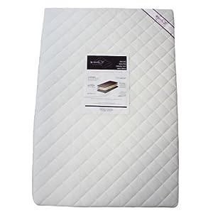 Linens Limited Deluxe - Colchón para cuna de viaje de espuma - 95 x 65 x 5 cm de Linens Limited