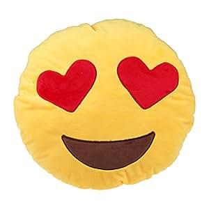 Mukka s smileys kissen rund sofa kissen for Kissen amazon