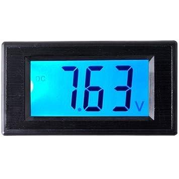 RioRand LCD Digital Volt Voltage Panel Meter Voltmeter 7.5V-20V