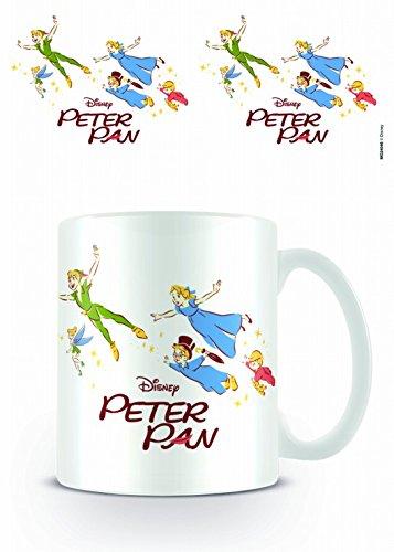 Peter Pan - Fly Tazza Da Caffè Mug (9 x 8cm)
