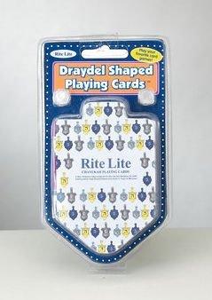 Draydel (Dreidel) Shaped Playing Cards