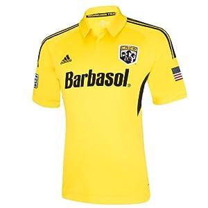 MLS Columbus Crew Short Sleeve Replica Jersey by adidas
