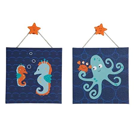 Bubbles & Squirt Wall Decor - Set of 2