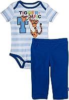 Disney Baby Boys' Tigger Creeper Pant Set (Baby) - Blue
