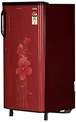 Kelvinator KS204LT-MA Direct-cool Single-door Refrigerator (190 Ltrs, 4 Star Rating, Maroon Aster)