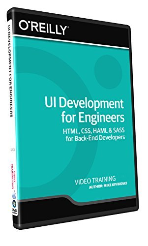 UI Development for Engineers - Training DVD (Software Engineering Somerville compare prices)