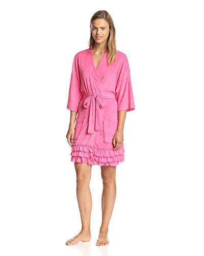 Aegean Apparel Women's Ruffle Hem Robe