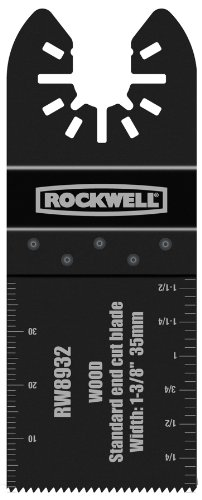 Rockwell RW8932 1-3/8-Inch Sonicrafter Standard Wood End Cut Saw Blade with Universal Fity System