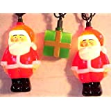 3 Strings of Santa   Gift Party String Lights