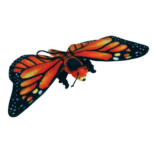 "13"" Monarch Butterfly Plush Stuffed Animal Toy by Animal Planet - 1"