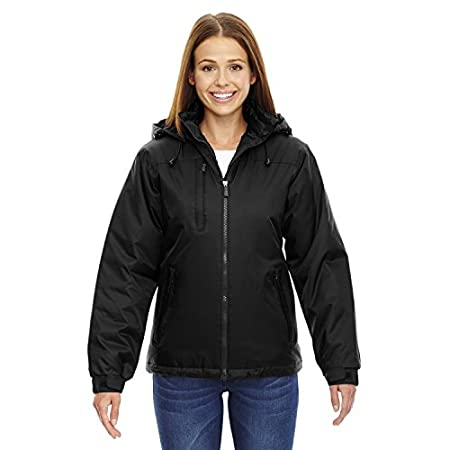 INSULATION:100 gsm in body and sleeves; 60 gsm in hood; Water resistant finish; 100% nylon ripstop, 2.6 oz./yd2/88 gsm; LINING: 100% polyester taffeta; UTK 2 temperature range:; 32F to -5F / -0C to -21C; warmth attributes:; inside storm placket; zip-...