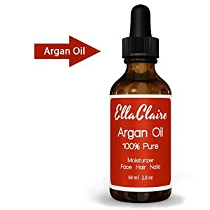 Virgin Argan Oil - Facial Moisturizer - 100% Pure Moroccan Argan Oil for Hair Best Anti-aging Moisturizer - Hair Treatment Oil Repairs Hair Restores Shine - Argan Oil Organic Certification By Ecocert and USDA - Natural Skin Care Product for Men and Women