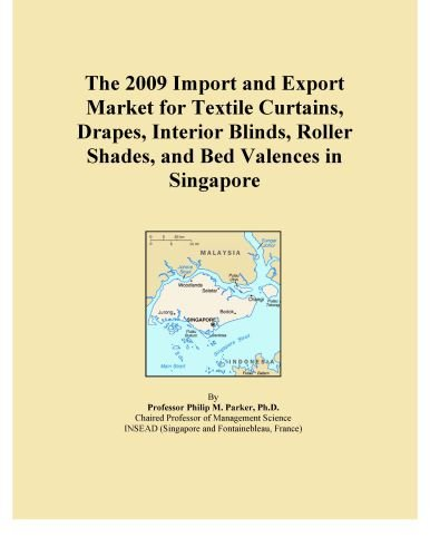 The 2009 Import and Export Market for Textile Curtains, Drapes, Interior Blinds, Roller Shades, and Bed Valences in Singapore