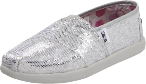 Skechers Girls Bobs World Slipper Silver Silber (SIL) Size: 34
