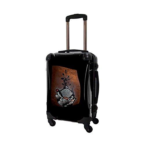 CARART(キャラート) アート スーツケース NISHI composite フレーム4輪 機内持込 J10511
