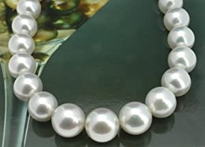 South Sea Pearl Necklace Strand - 2197 - White