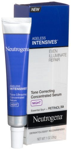 Neutrogena Ageless Intensives Tone Correcting Concentrated Serum Night, 1 Ounce front-559714
