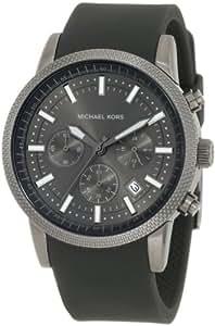 Michael Kors Chronograph Silicone Strap Watch - MK8241