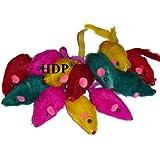 Rainbow Mice - Bag of 12 - Cat Toy