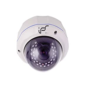 """IPS 1/3"""" 2.0 Mega Pixels CMOS 22 LED IR Night Vision Outdoor Dome IP Camera IPS-922 HD-Quality Support view via iPhone, 3G phone, smart phone Day and night vision"""